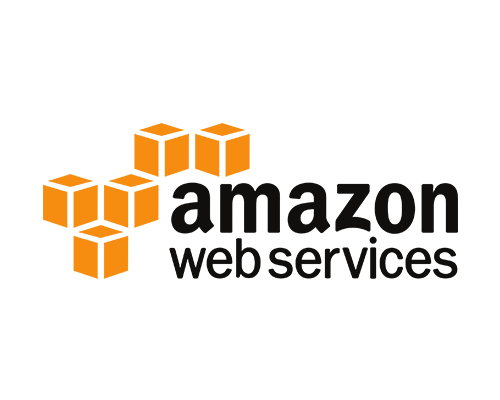 AMAZON WEB SERVICES AWS logos