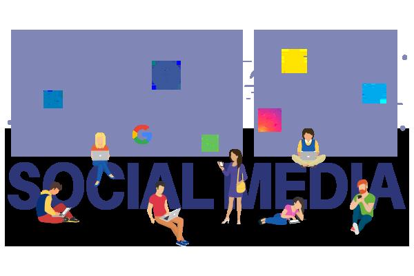 Social Media Marketing Course logos